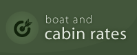 Northland Lodge boat and cabin rates button
