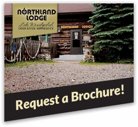 front cover of the Northland Lodge brochure