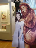 exhibit at the Judy Garland Museum in Grand Rapids